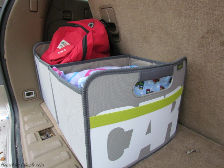Winter car emergency kit in the meori foldable box. ad