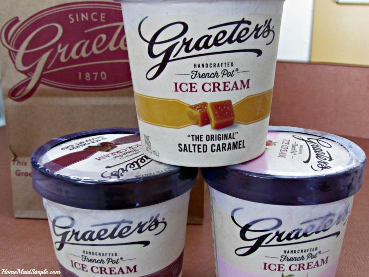 Graeters Ice Cream pints. YUM!