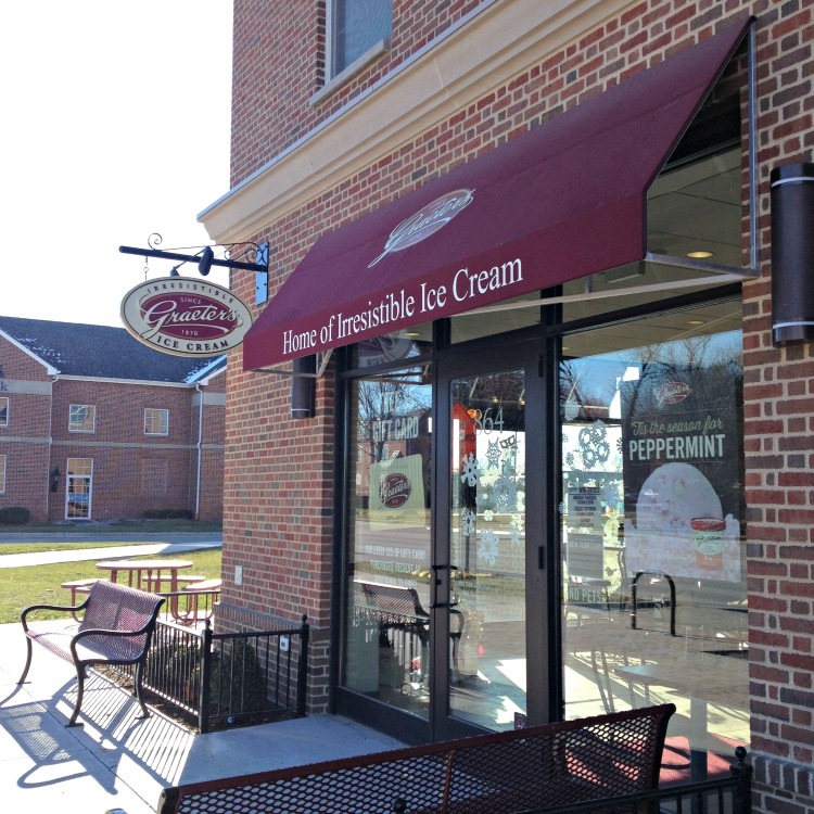 Check out Graeters Ice Cream Scoop Shops.