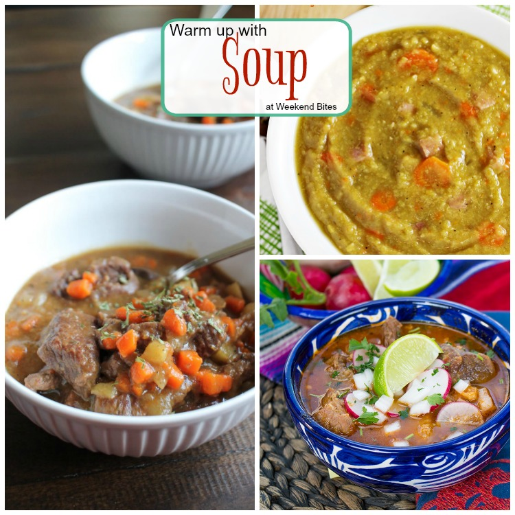 Warm up with these Soup recipe from Weekend bites