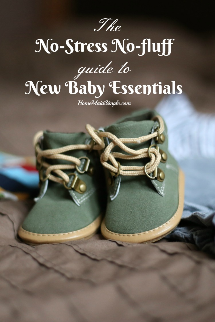 The No-Stress No-Fluff Guide to New Baby Essentials.
