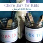DIY Chore Jars for Kids
