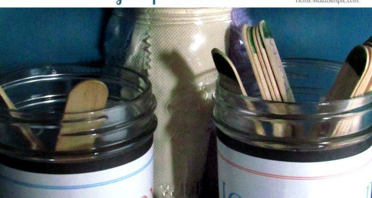 DIY Chore Jars for Kids