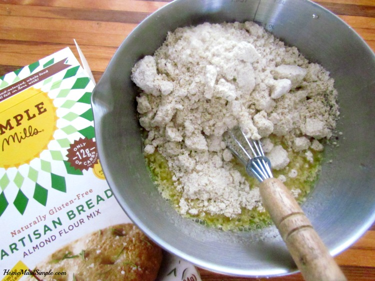 Simple Mills Artisan Bread. ad