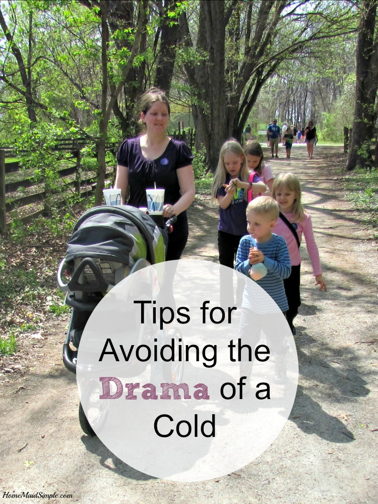 You have places to be and things to do. Avoid the drama of a cold with these tips.