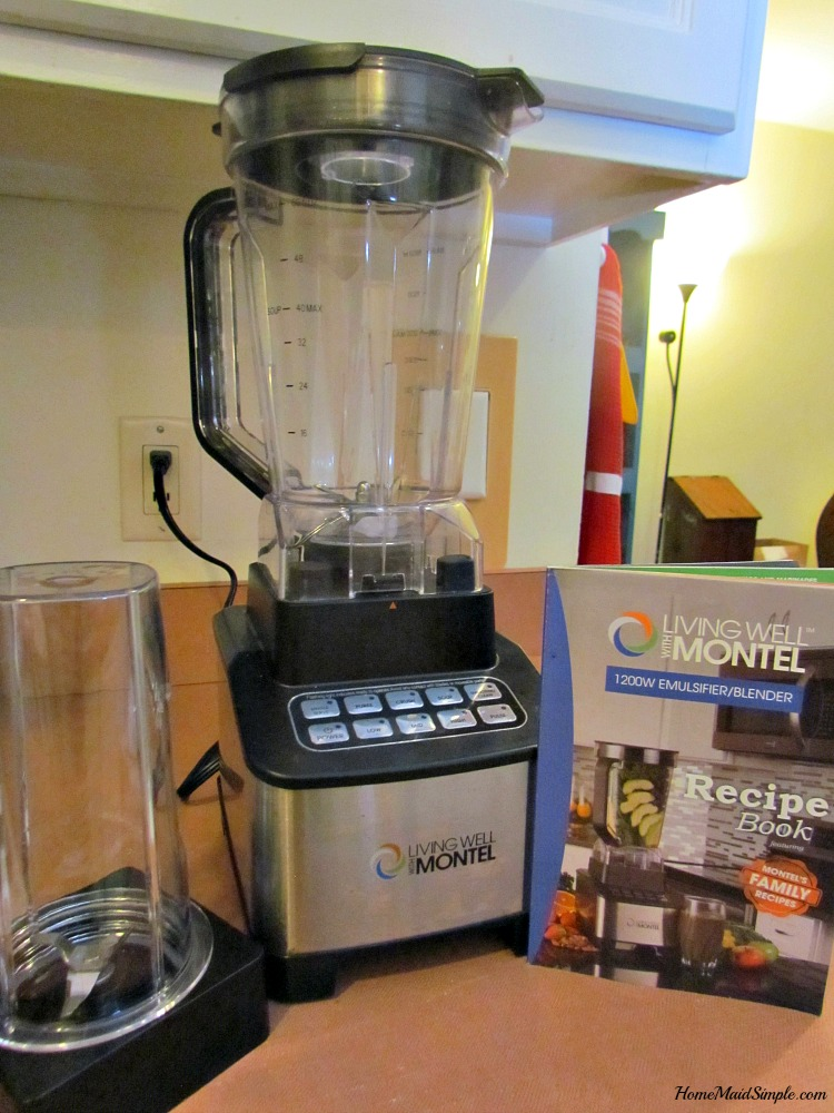 Living Well with Montel blender review. ad