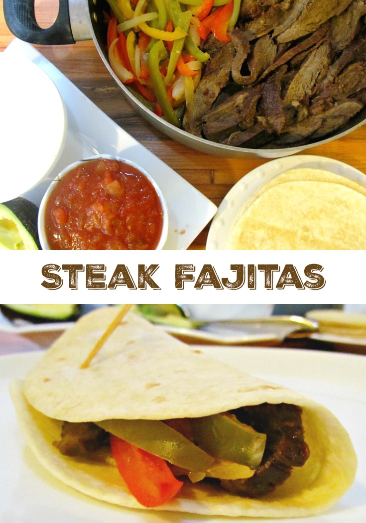 Enjoy some Steak Fajitas with Montel Williams Marinade recipe. ad
