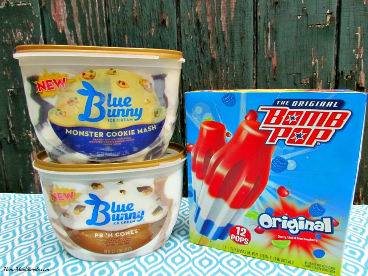 Have a Classic Summer with Blue Bunny® and The Original Bomb Pop® at Walmart. ad