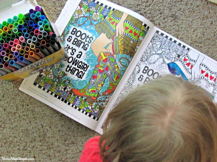 Adult coloring books that aren't just for adults. ad