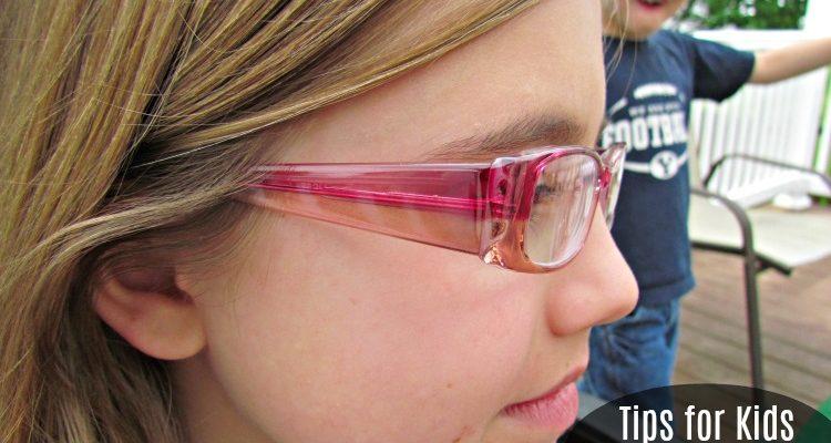 Tips for Kids Wearing Glasses