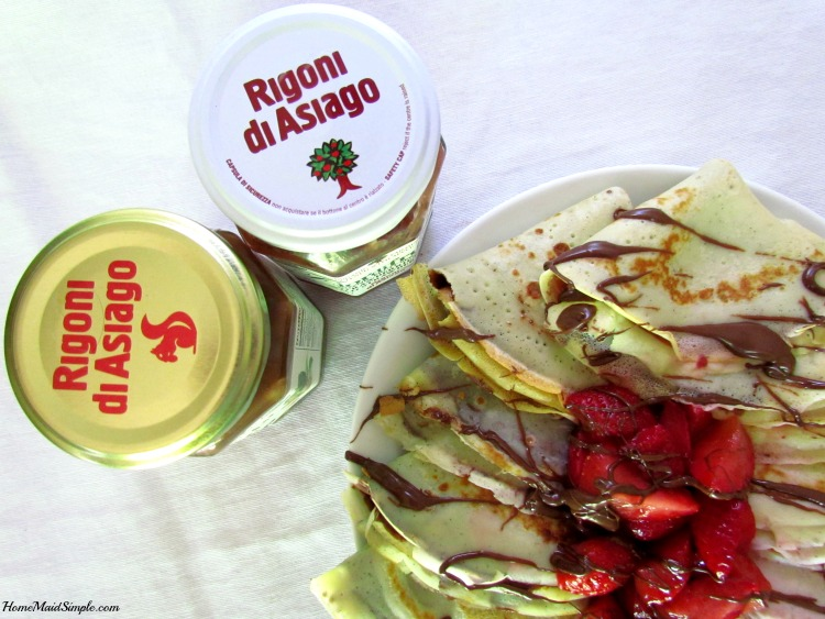 Neapolatin Crepes with Rigoni di Asiago. ad