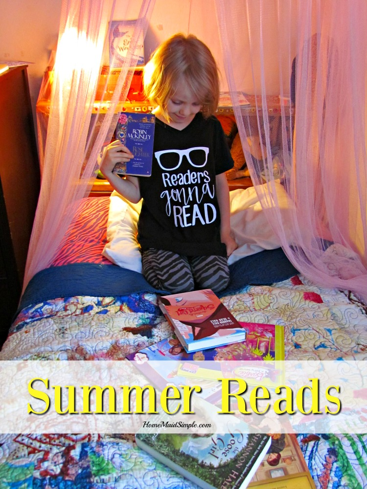 Summer Reads for Kids with Cents of style What we're reading and where! ad