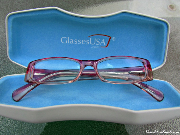 On Your Face or In The Case. Tips for kids wearing glasses. ad