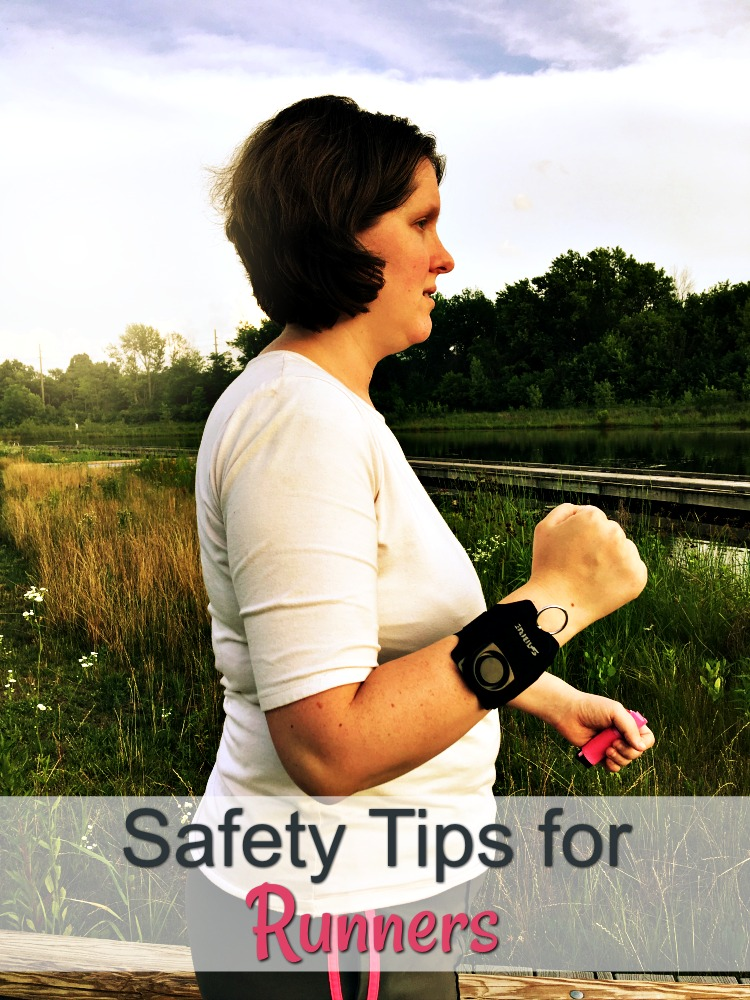 Get out running with these safety tips in mind. AD