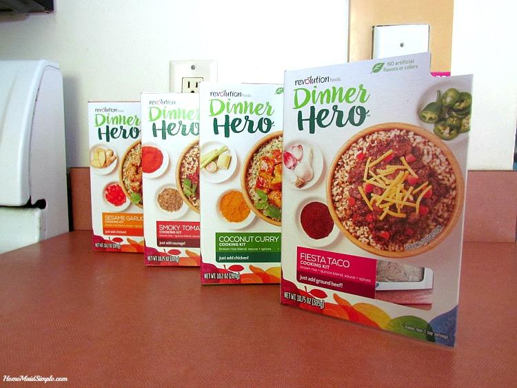 Dinner Hero from Revolution Foods. ad