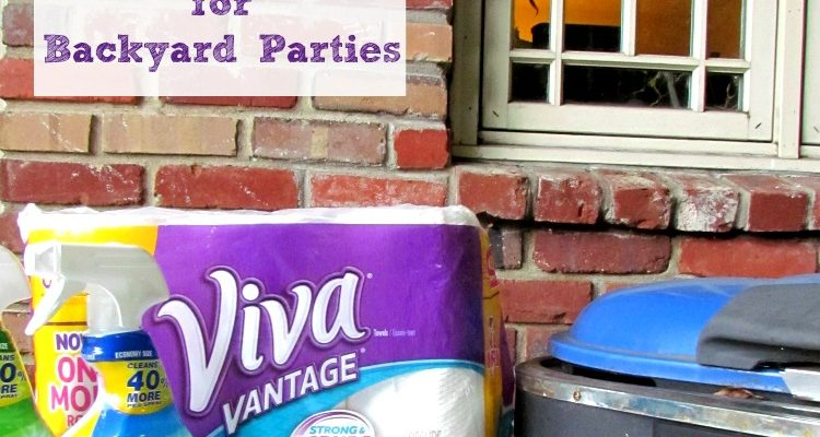 Easy Clean Up Tips for Your Summer Parties
