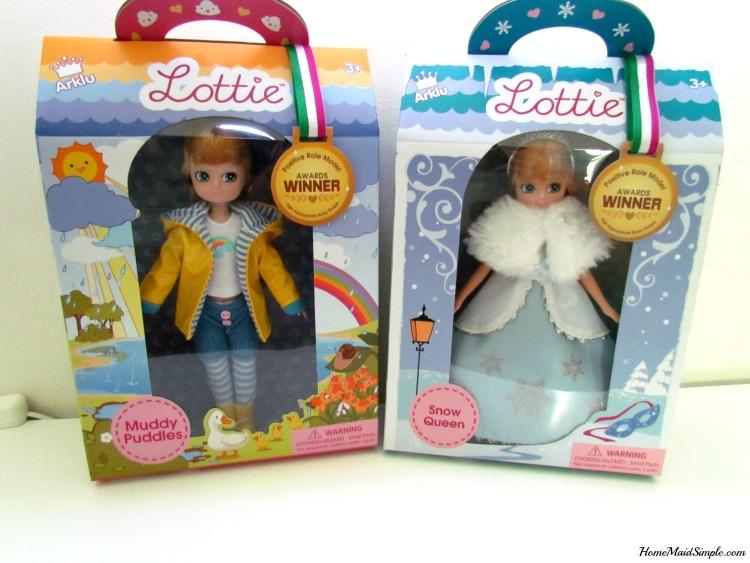 Win a Lottie Dolls! AD