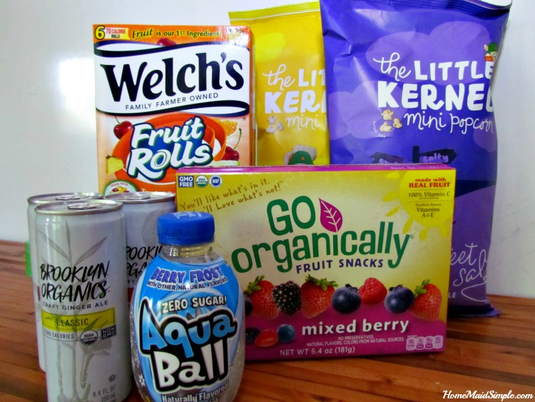 Allergy Friendly Lunchbox snacks for back to school.