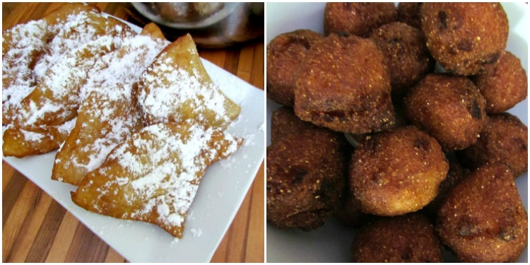 The best beignets and hush puppies ever.