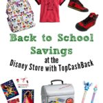 Back to School Savings at Disney with TopCashBack