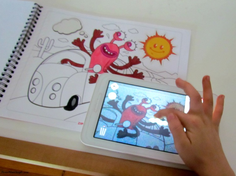- ZIPIT Interactive Coloring And Activity Book Giveaway Home Maid Simple