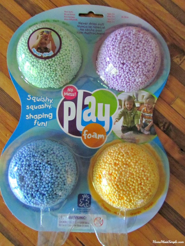 Playfoam is a mess free screen free play option for kids. ad