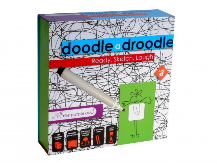 Doodle a Droodle from Purple Cow. ad