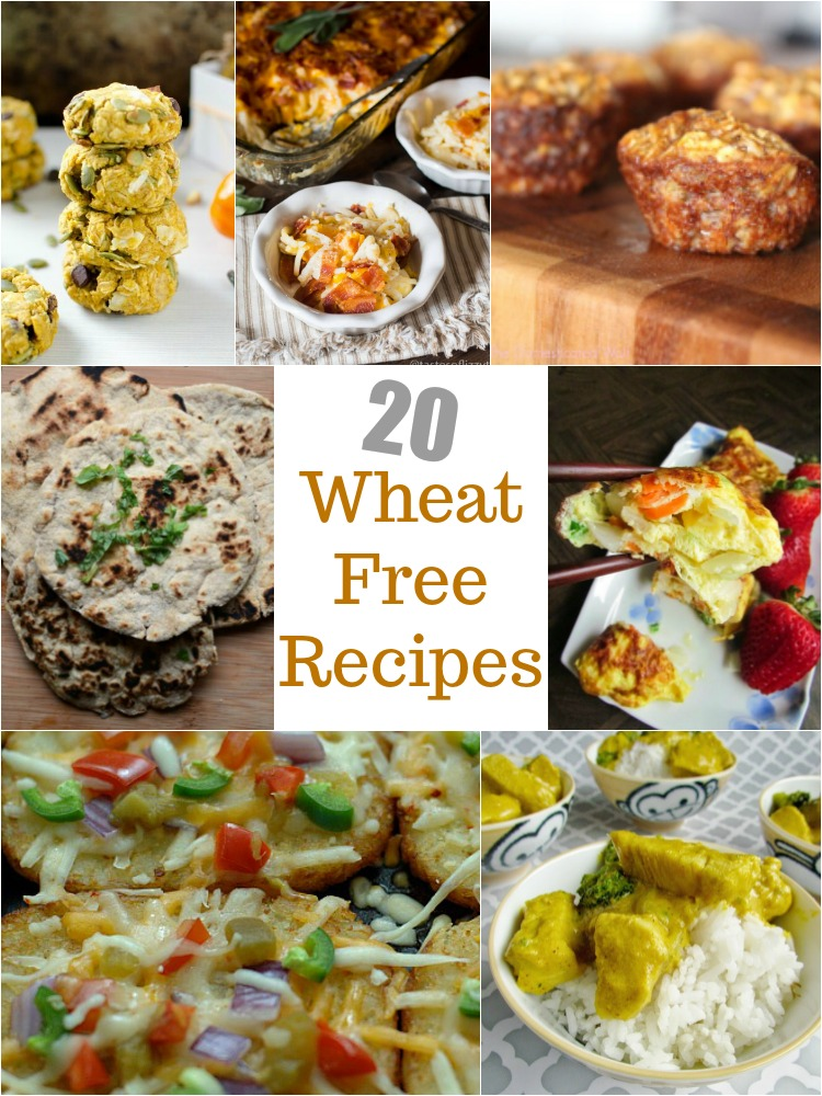 20 Wheat Free Foods to try when you can no longer eat wheat due to a food allergy.