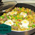 Pork and Egg Hash