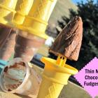 Thin Mint Chocolate Fudgesicle