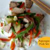 Asparagus and Pork Stir Fry