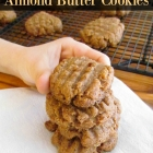 Almond Butter Cookies Recipe