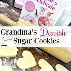 Grandma's Danish Sugar Cookies