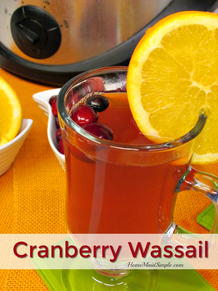 This recipe for Cranberry Wassail will warm you to the soul.