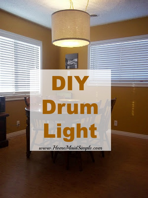 DIY Drum Light