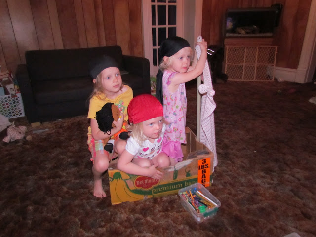 My wee lil' Pirates {Wordless Wednesday}