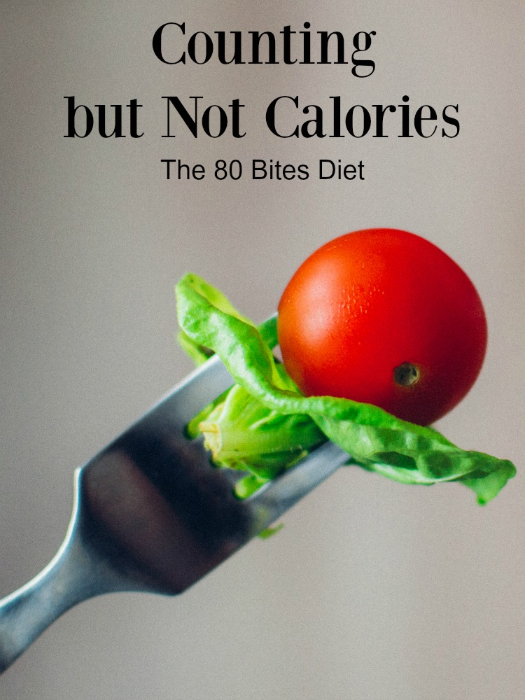 Trying to lose weight, but hate counting calories? Try the 80Bites diet. ad