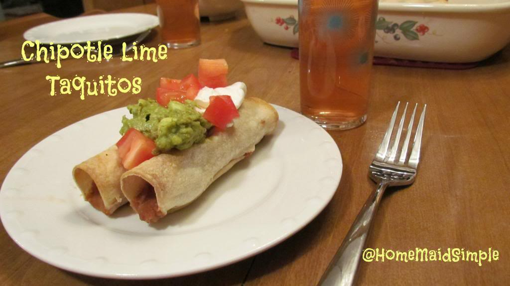 Chipotle Lime Taquitos