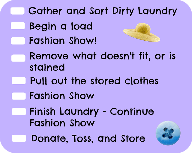 Spring Cleaning Day 3 – Clothing
