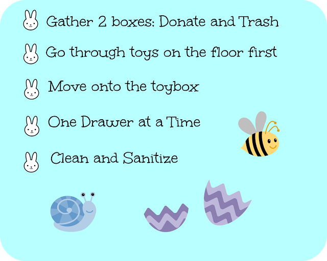 Spring Cleaning Day 4 – Toys and General Clutter