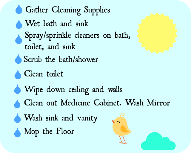 Spring Cleaning Day 5 – Bathrooms