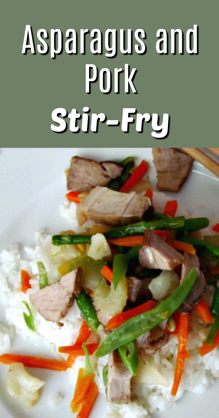 Asparagus and Pork StiryFry
