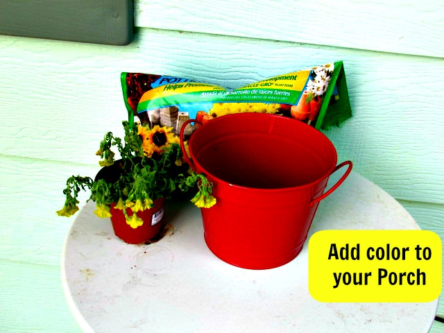 Add a Little Color to Your Porch