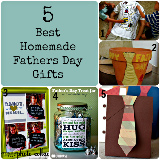 5 Best Homemade Fathers Day Gifts