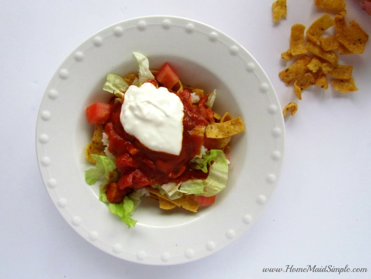 Chalupa Salad