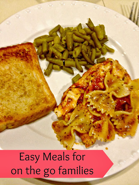 Easy meals for busy nights #ad