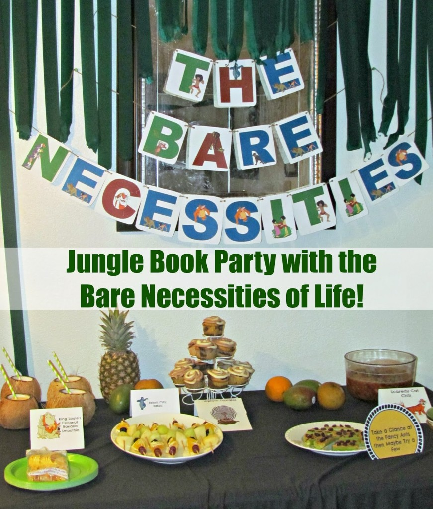 The Bare Necessities of Life and King Louie's Coconut Banana Smoothie #JungleFresh