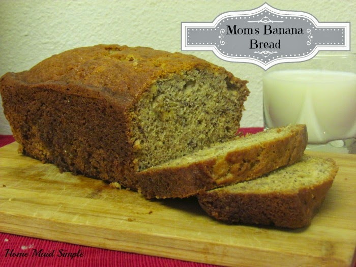 Moms Banana Bread