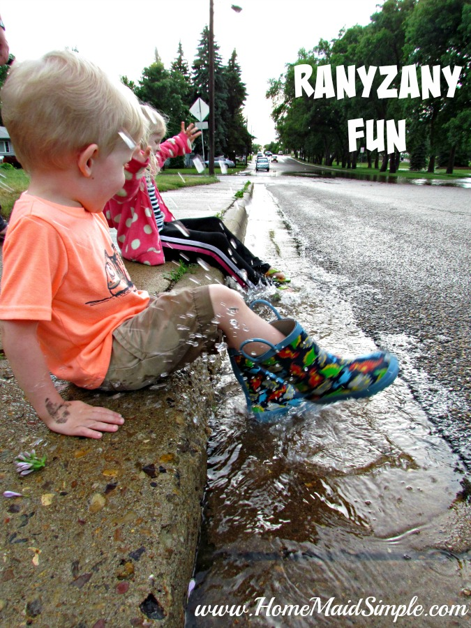 Rainy Day Fun with Rany Zany