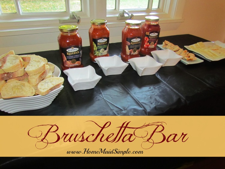 How to throw a Bruschetta Bar